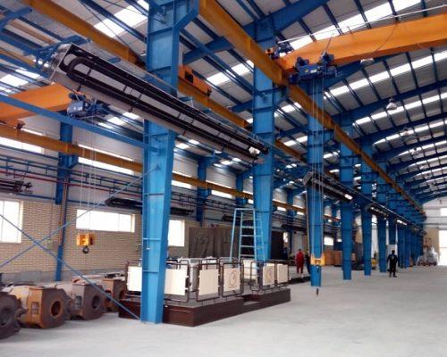 گرماتاب در سالن صنعتی